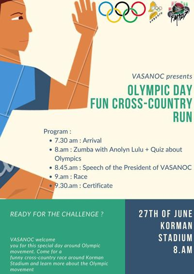 VASANOC prepares for Olympic Day Run