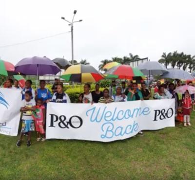 P&O Cruises' Ni Vanuatu Crew Arrive Home on Special Air Charter
