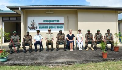 Highlights of Australia's Chief of Defence Force first visit to Vanuatu