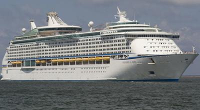 Who allowed the cruise ship to berth?