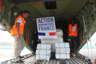French Government Contributes to Ambae Humanitarian Response Plan