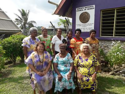 Port Vila City Council of Women has new executive committee