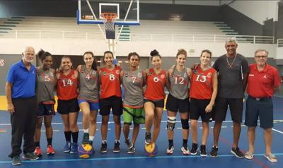 New Caledonia Women's 3x3 Basketball tours Vila