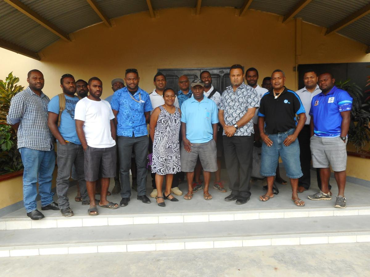 Roles of fisheries observers discussed by Placement Officer Orianiha'a