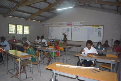 Tanna School Lights Up With Green Energy
