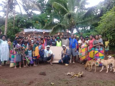 Solar Water Pump a milestone for Moamoa community