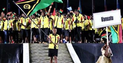 Team Vanuatu to parade through town