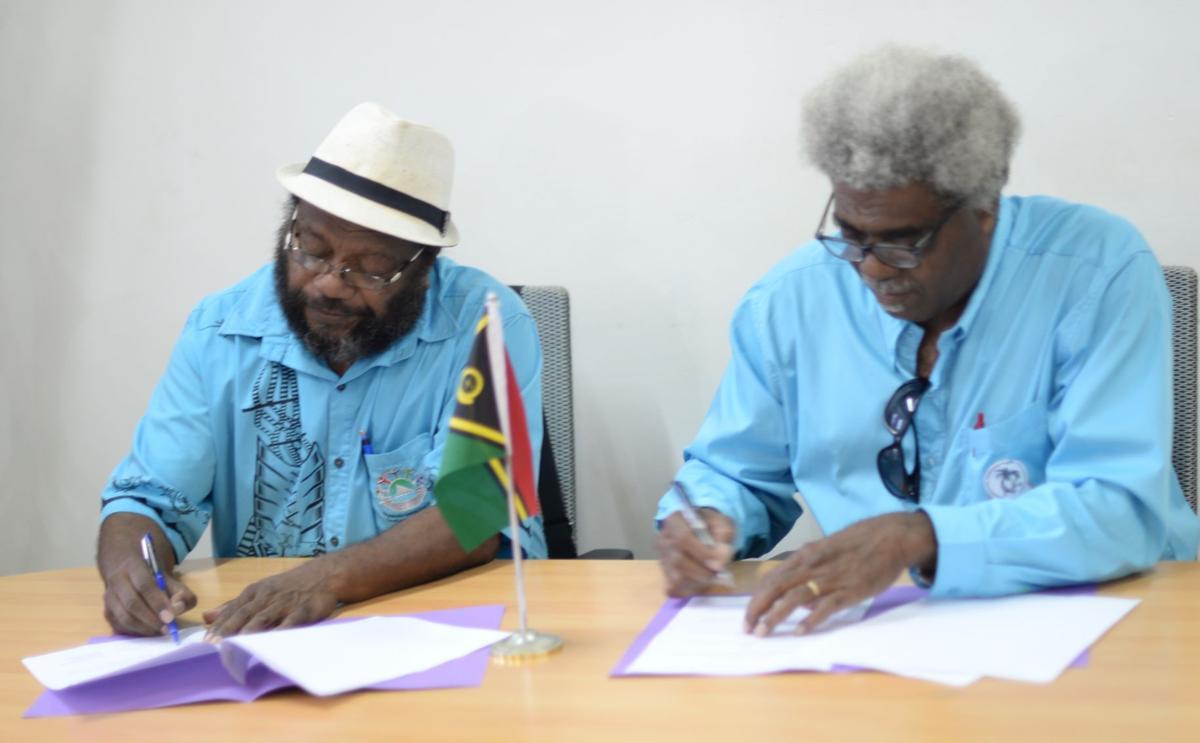 Exchange program between Vanuatu and Kanak students
