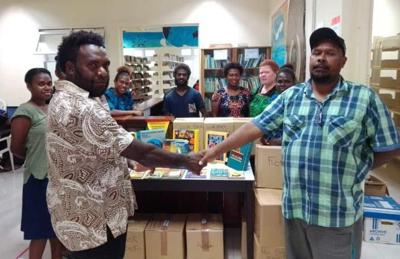 Universal Peace Federation Donates Books to Town Library