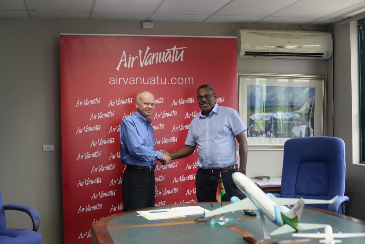 New CEO Appointed at Air Vanuatu