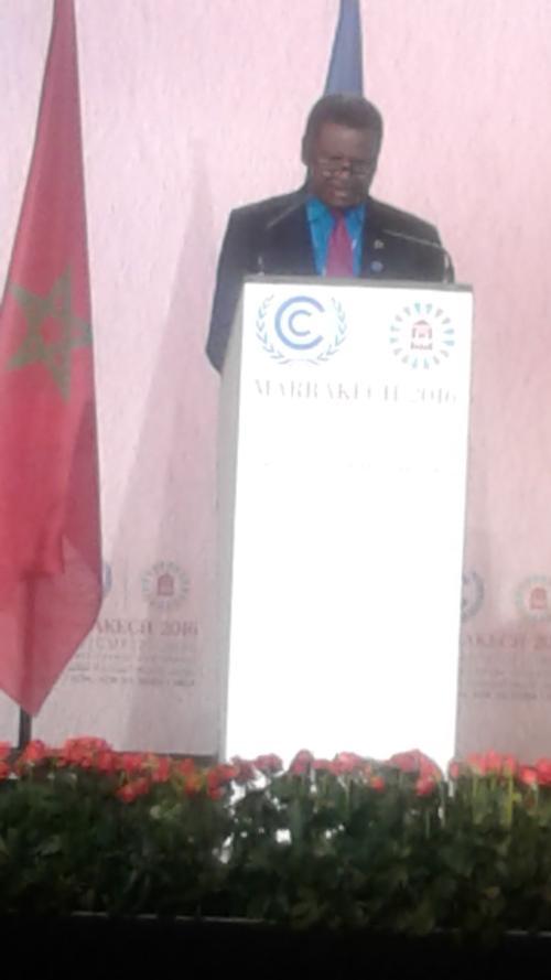 Vanuatu makes high level statement at UN Climate Conference