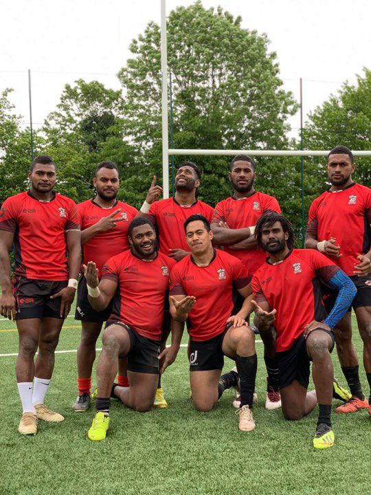 Vanuatu player part of Silver Winners of Centrale 7s 2019