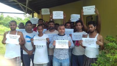 孟加拉国工人不想回家