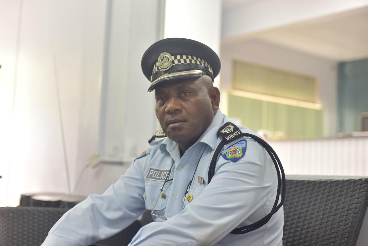 COMPLAINT FILED AGAINST POLICE BOSS