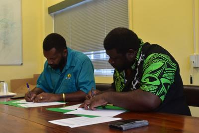 NGEF signs MOU Registrar of Cooperatives and Business Development Services