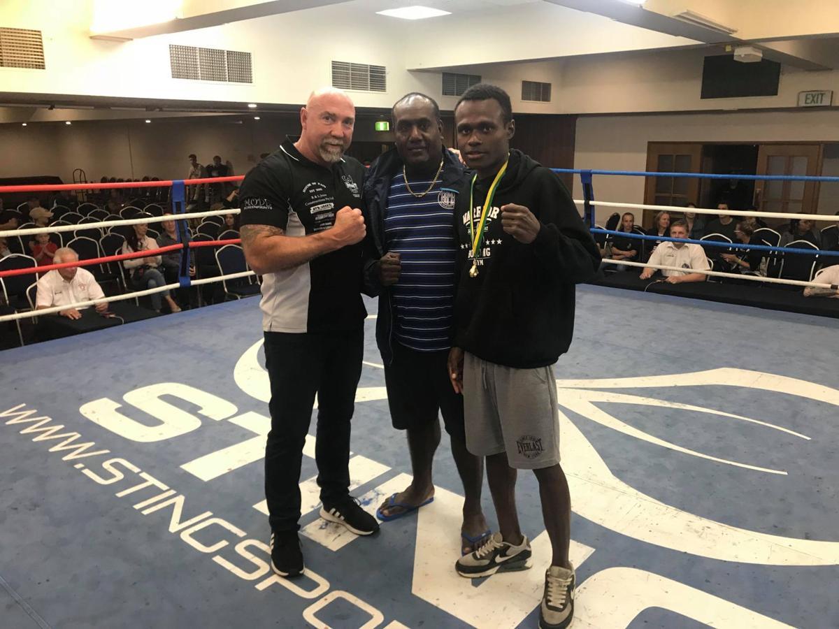 Warawara takes Gold in Australia's Golden Glove Championship