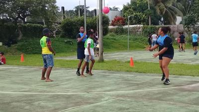 Another round of Mix Junior netball tournament