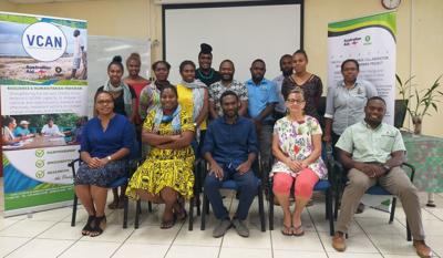 COP25 negotiations training for Vanuatu officials