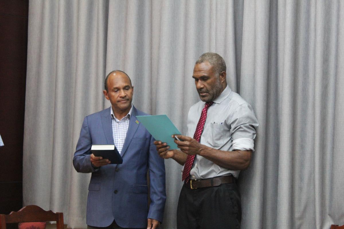 Reshuffle in Govt