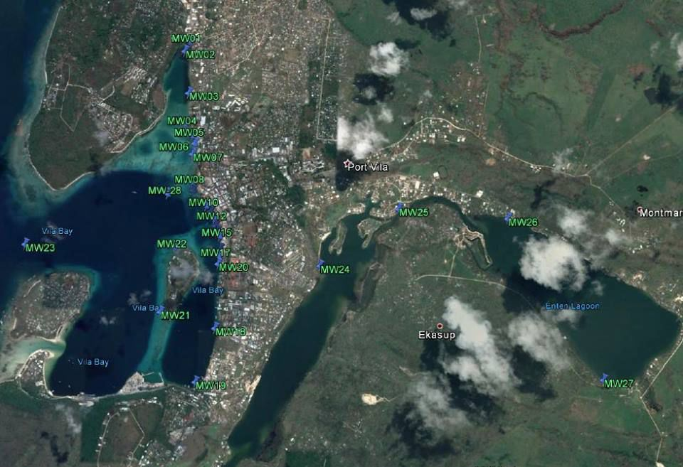 Port Vila Harbour contaminated