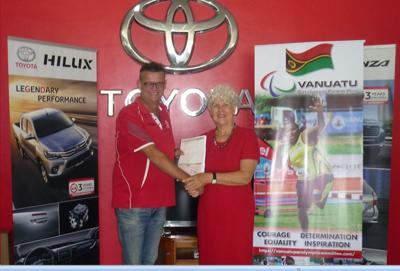 ASCO Motors signs MOU with Vanuatu Paralympic Committee