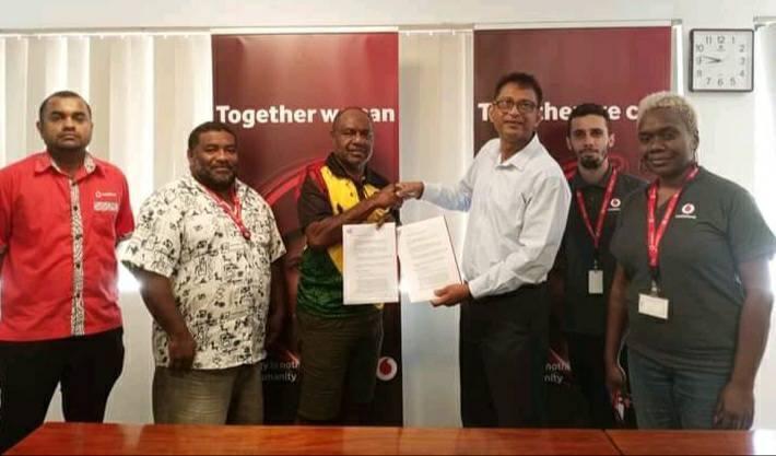 Vodafone i sponsarem 2021-2022 PVFA Premia Lik