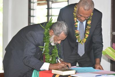 Bulu sworn in as the 6th Ombudsman