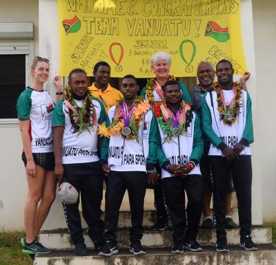 Vanuatu-Para Sport hemi mekem histri long Arafura Games