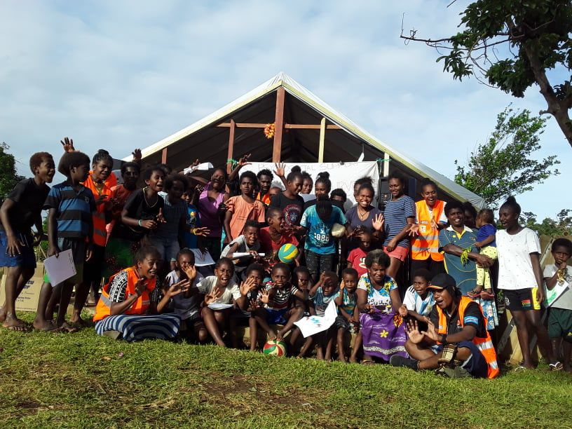 Volley4change continues to spread volleyball message on Santo