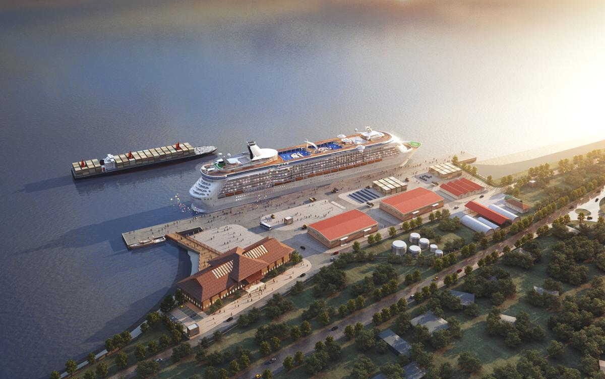 Luganville wharf