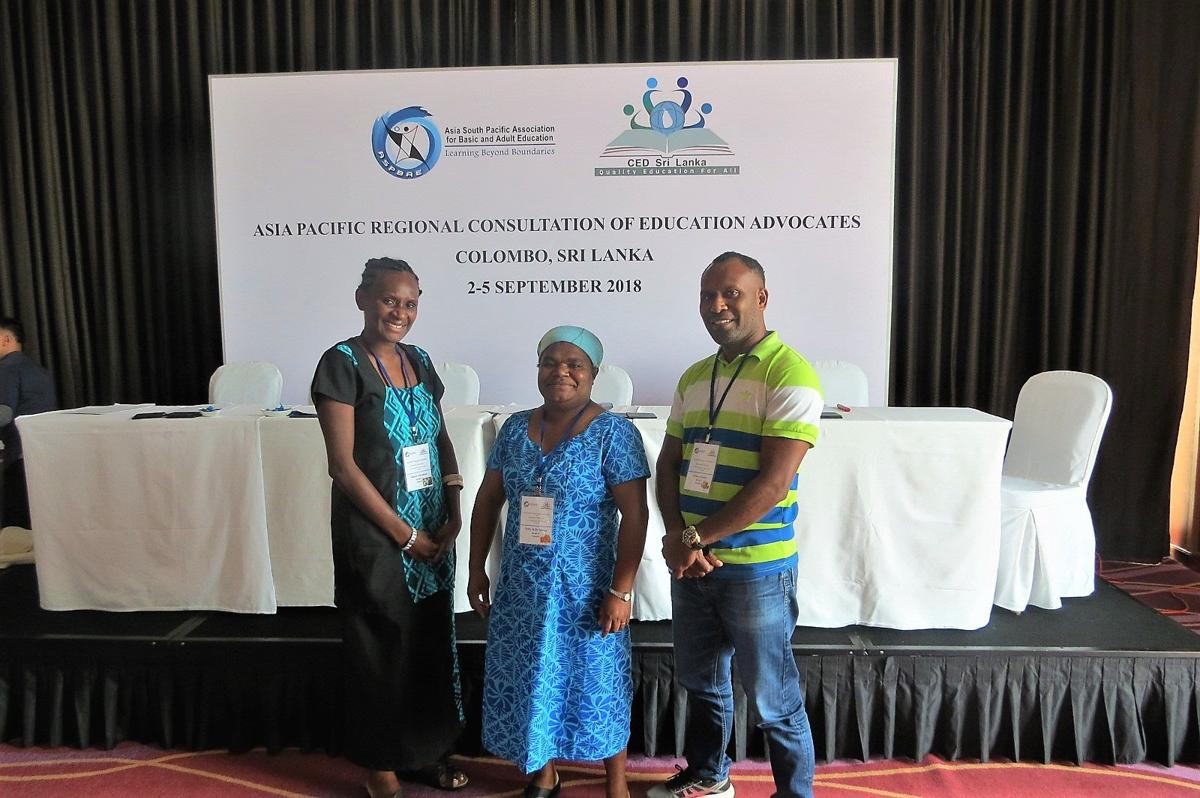 Vanuatu participates in Asia Pacific Regional Consultation for Education Advocates