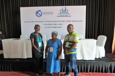 Vanuatu participates in Asia Pacific Regional ConsultationforEducation Advocates