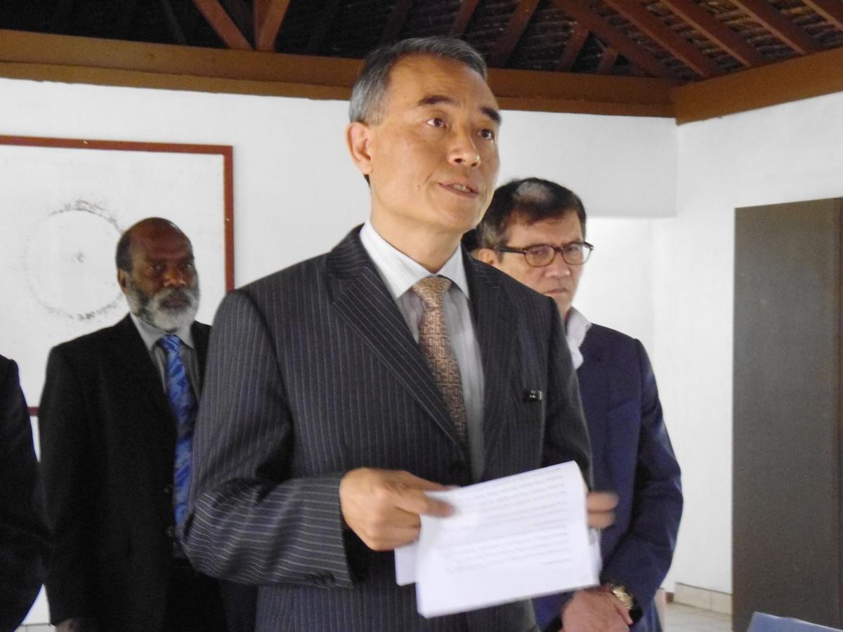 Korean Ambassador wants to strengthen pillars in trade and tourism
