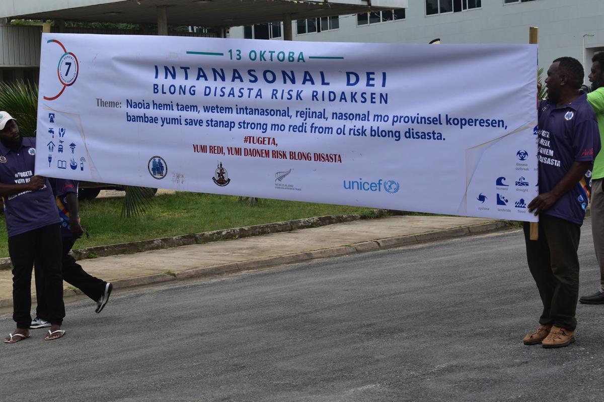 Preparedness highlighted in International Disaster Risk Reduction Day celebration