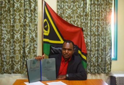 Minister Napuat Announces the release of Councillors Constituency Allocation