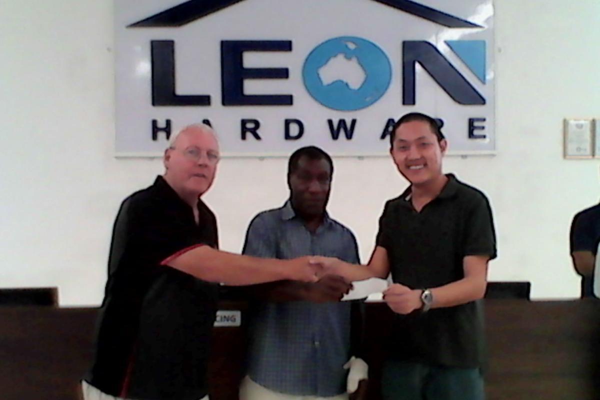 Mauwia FC has new sponsor-Leon Hardware
