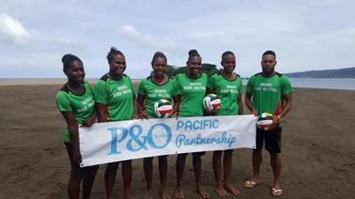 Federica Tono will be a new Vanuatu volleyball coach