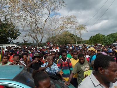 Vanuatu Presidential Party leadership pleased with Sanma election result