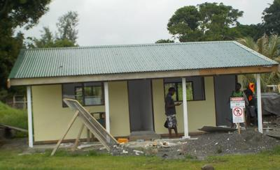 New REDD+ and Forestry Office for Tanna near completion