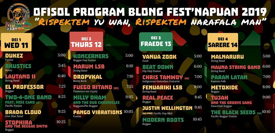 Fest' Napuan Starts Today