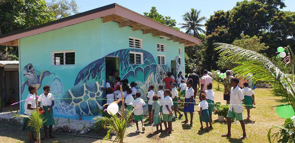 Manua Centre Primary School Gains a Deluxe New Toilet and Shower Complex