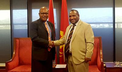 MSG Secretariat Officials Commence Talks With PNG Government