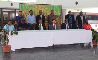 Historical MoU signed between Vanuatu Parliament and China