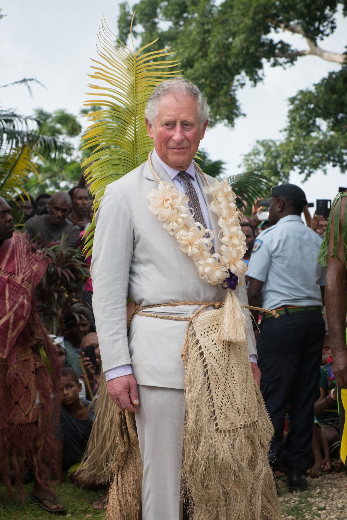 Prince Charles visits Vanuatu