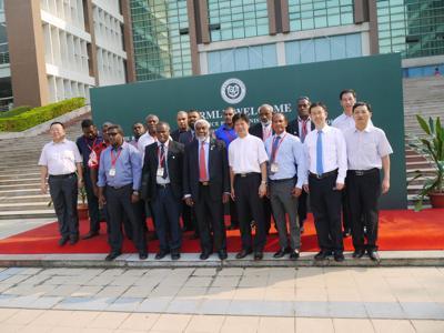 Vanuatu delegation visits Guangdong AIB Polytechnic