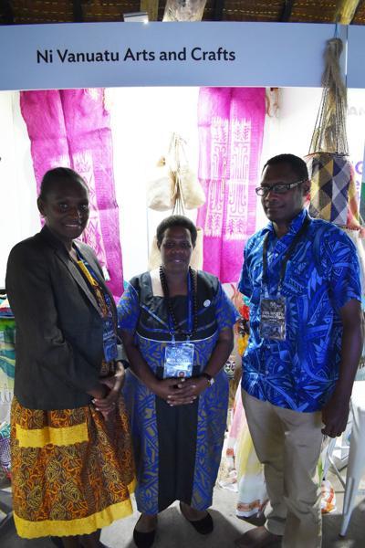 Ms Abraham, Ms Bule and Mr Taurakato