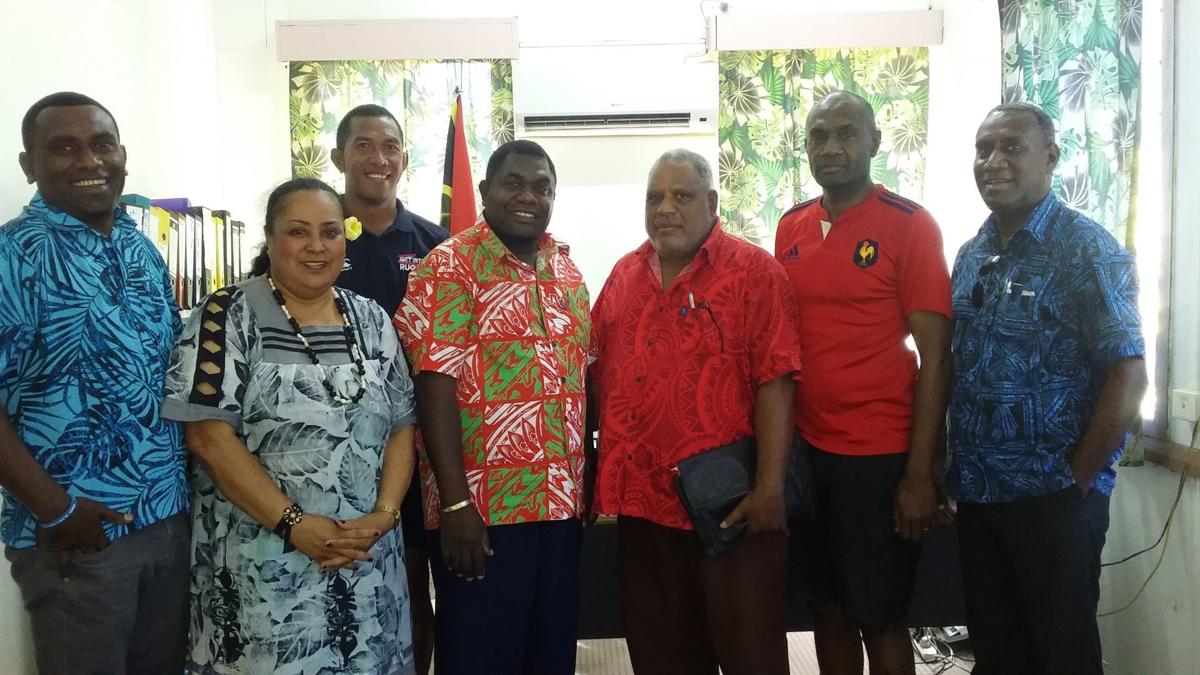 Minister Seule confirms support for Vanuatu Rugby Union