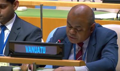Vanuatu raises Westy Papua at UN