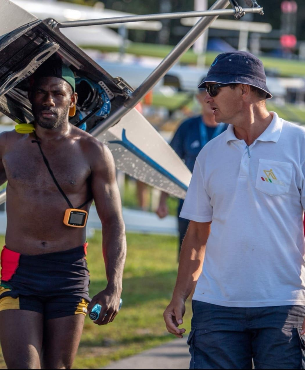 Olympic dream re-set. Rillio RII is back on the water : head coach Andrew MacKenzie