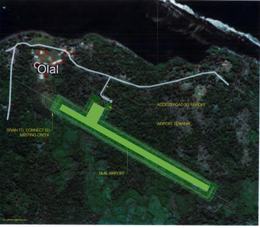 Olal Airport contractor signed contract agreement